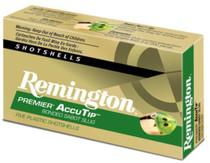 """Remington Premier Accu-Tip Bonded Sabot Slug 20 Ga 260gr, 3"""", 1900 FPS, Power Port Tip, 5rd/Box"""
