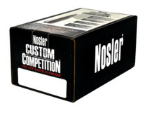 Nosler Competition Bullets .277 Diameter 115 Grain Hollow Point Boattail 100/Box