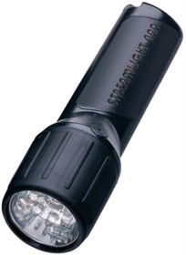 Streamlight 4AA LED, White LEDs, Alkaline Batteries, Black