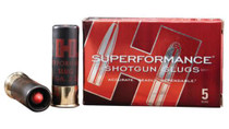 Hornady Superformance MonoFlex Slug 12 Gauge 2.75 Inch 1950 FPS 300 Grain 5 Per Box For Use With Rifled Barrel
