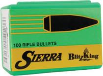 Sierra Rifle Bullet .257 Diameter, 90gr, Blitzking, 100rd/Box