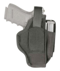 "Blackhawk Sportster Ambidextrous Holster With Magazine Pouch Size 3 Large Autos 4.5-5"" Barrel Black"