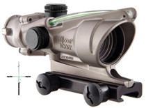 Trijicon NB ACOG 4x32mm 36.8 ft@100 yds BAC Green Crosshair w/TA51 Mount
