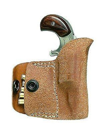 NAA Pocket Holster 22LR Frame Black Leather