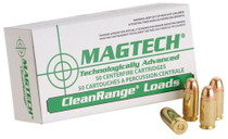 Magtech Clean Range 9mm 115gr, Encapsulated Bullet 50rd/Box 20 Box/Case