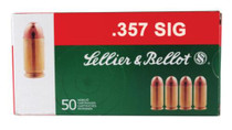 Sellier and Bellot 357 Sig 140 FMJ 50Rd/Box