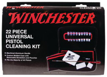 Winchester Universal Pistol Cleaning Kit 22 Piece In Custom Fit Soft-Sided Case