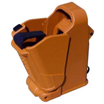 MagLula Uplula Universal Pistol Mag Loader  Orange/Brown