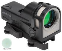 Meprolight M21 D5 Mepro 21 1x 30mm Obj Unlimited Eye Relief 5.5 MOA Triangle, QR Mount