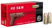 GECO .40 S&W 180gr, FMJ, 50rd/Box