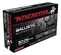Winchester Supreme 30-06 Spg Ballistic Silvertip 180gr, 20Box/10Case