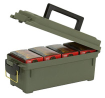 Plano Shot Shell Box, Holds 4 Shotshell Boxes, O-Ring Water-Resistant Polyethylene OD, (May be available only in 6 Packs)