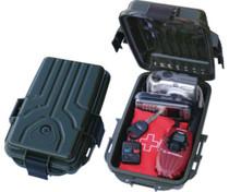 """MTM Case Gard Survivor Dry Box Water Resistant 10x7x3"""", Forest Green"""