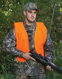 Allen Youth Hunting Vest Orange Adult Quiet Acrylic