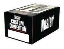 Nosler Competition Rifle Bullets .224 Diameter 52gr, Hollow Point Boat-tail, 100/Box