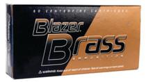 CCI Blazer .40 SW 165 Gr, FMJ Flat Nose, 50rd/Box