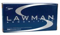 Speer Lawman .40 SW 165 Gr, Total Metal Jacket, 50rd Box, 20 Box/Case