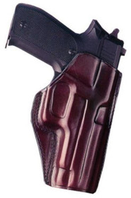 Galco Concealed Carry 266B Fits Belt Width 1 - 1.75 Black Leather