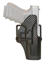 Blackhawk CQC Serpa Belt Holster, Glock 29/30, Black/Carbon Fiber, RH