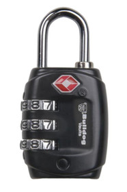 Bulldog TSA Lock Shackle Comination Black