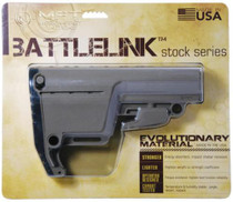 Mission First Tactical Battlelink Utility Low Profile Stock Military For Mil Spec Size 1.148 Diameter Receiver Extensions Scorched Dark Earth