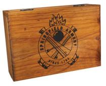 Springfield Wooden Battery Box Single Pistol