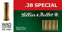 Sellier and Bellot 38 Special 158 LFN 50Rd/Box