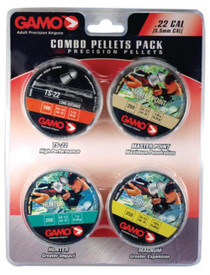 Gamo Precision Pellet Combination Pack .22 Caliber 950 Count