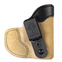 DeSantis 111 Pocket-Tuk Pocket Holster, RH, Tan, Kahr PM9/40/45