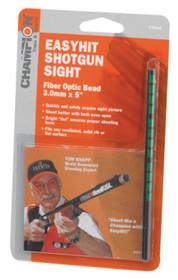Champion EasyHit Fiber Optic Shotgun Sights Green 3.0mm - 5 Inches