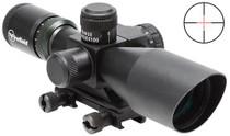 Yukon 2.5-10x40 2-10x 40mm Obj FOV 30mm Tube Dia Black Illum Green Mil Dot