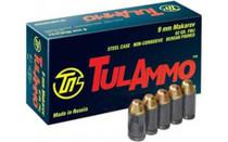 TulAmmo 9x18mm Makarov, 92 Gr, FMJ, 50rd Box