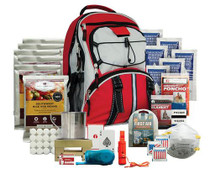 Wise Foods Emergency Five Day Survival Backpack Red 32 Servings