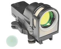 Meprolight M21 Open X 1x 30mm Obj Unlimited Eye Relief 5.5 MOA Triangle, QR Mount