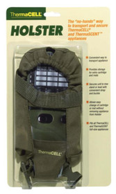 Thermacell Holster Accessory With Clip, For Thermacell Or Thermascent Units, Olive Green