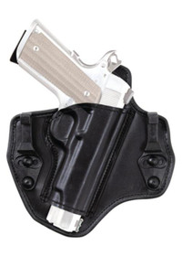 Bianchi 135 Supression 1911 Government and Commander IWB Holster, RH, Black