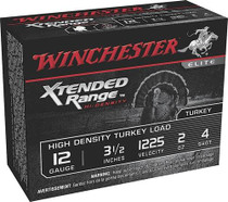 "Winchester Supreme Elite Xtended Range HD Turkey 12 Ga, 3.5"", 2oz, 4 Shot, 10rd/Box"