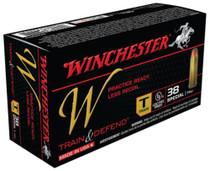 Winchester W Train .38 Special 130gr, FMJ, 50rd/Box