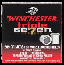 Winchester Muzzleloader Primers #209, 100 Primers/Pack
