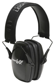Howard Leight Leightning LOF Ultra Slimline Earmuff Black Headband With Black Earcups