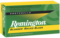 "Remington Slugger Rifled Slugs 20 Ga, 2.75"", 8oz, 5rd/Box"