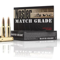 Nosler Match Grade .300 AAC Blackout 125 Grain Boattail 20rd/Box
