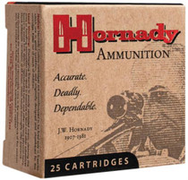 Hornady .25 ACP 35 Gr, Jacketed Hollow Point/XTP, 25rd/Box