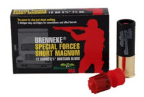 "Brenneke Special Forces Short Magnum 12g, 2 3/4"" 1 1/4oz Slug, 1418 FPS, 5rd/Box"