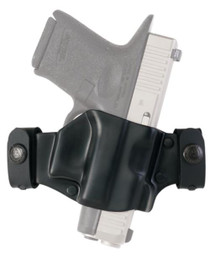 Galco M7X Belt Slide Glock 17/19/22/23/26/27/31/32/33/34/35 Black Right Hand