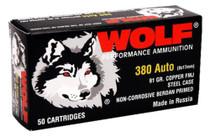 Wolf 9mm, 115 Gr, FMJ, Steel Case, 800rd/Case, Can