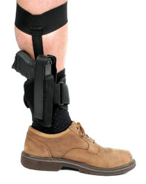 Blackhawk RH Ankle Holster Black Nylon