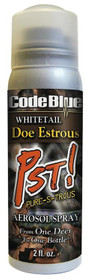 Code Blue Whitetail Aerosol Spray Scent Deer 2 fl oz