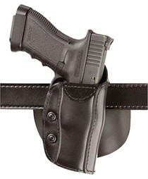 Bianchi 568 Safariland Holster Smith & Weson 4 Inch Barrel Stx Plain Black Right Hand