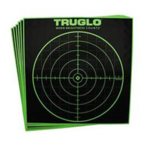 TruGlo 100 Yard Sight In Target 12x12 Fluorescent Green 12 Pack